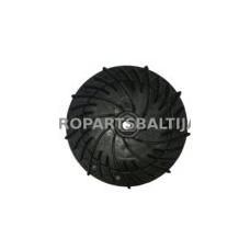 Ventiliatorius peilio laikiklio kinietiškoms vejapjovėms